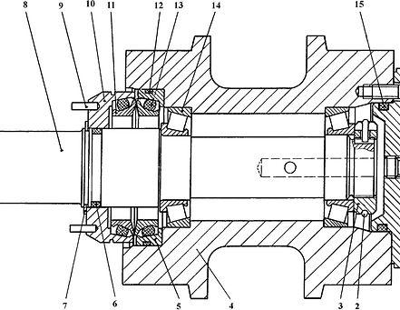 1101-21-15СП каток поддерживающий т-11.01, каток четра т11, т-11.02 каток поддерживающий четра т11м