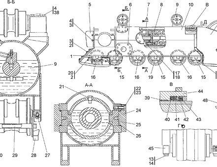 0901-21-12СП тележка т-9.01, т19, т9.01 Промтрактор