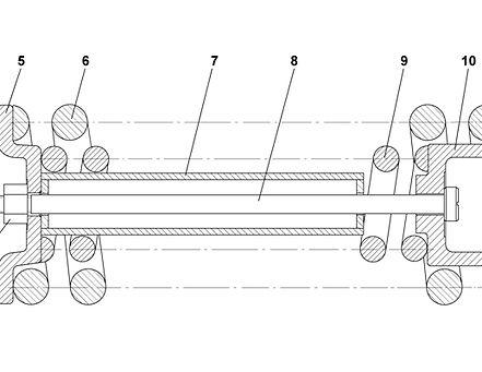 2501-21-16СП механизм сдавания т-25.01, т25, т-2501
