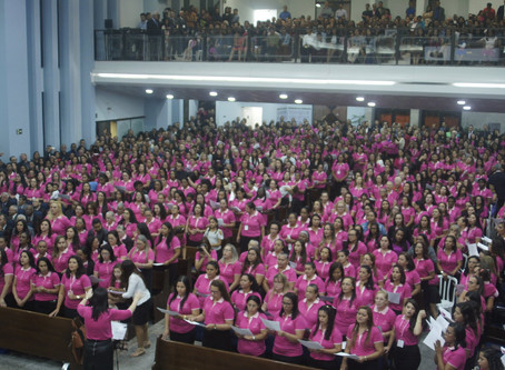 Igreja comemora 60 anos da União Feminina