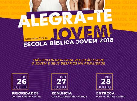 Escola Bíblica Jovem 2018