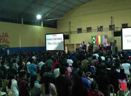 Cruzada Evangelística é realizada na Bolívia