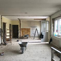 Wohnküche Vorher