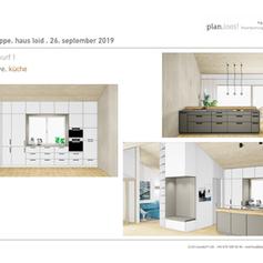 Entwurf Küche