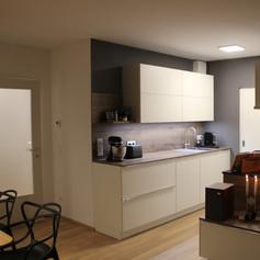 Wohnküche Spülenseite