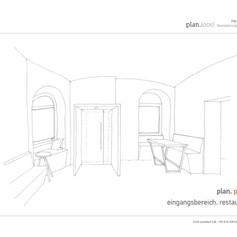 Konzept Eingangsbereich