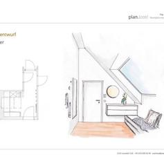 Konzept Vorzimmer