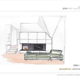 Konzept Wohnzimmer