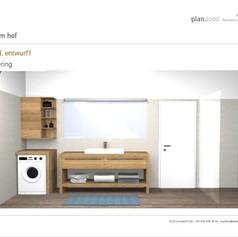 Entwurf Badezimmer Var1