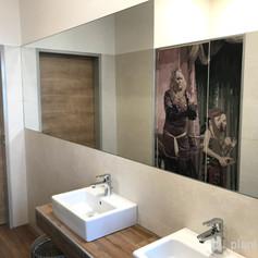 Nachher Damentoilette