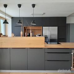 Wohnküche Nachher