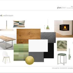 Moodboard Wohnküche