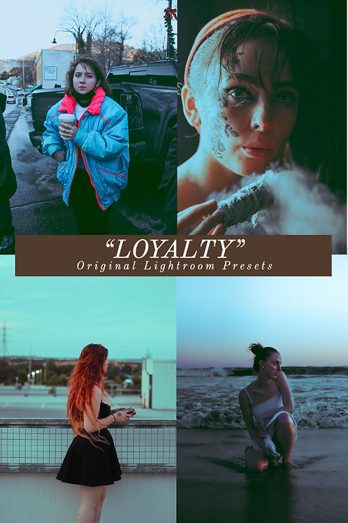 """Loyalty"" original Lightroom presets"
