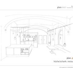 Konzept Küche/Schank