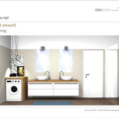 Entwurf Badezimmer Var2