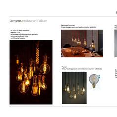 Produktauswahl Beleuchtung