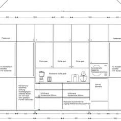 Detailplan Wandansicht