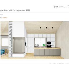Entwurf Wohnküche