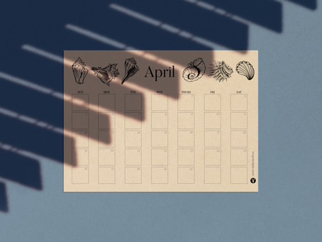 Monthly Printable Planner April 2020