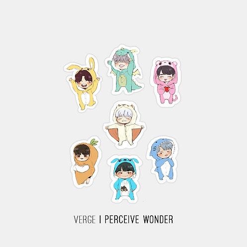 BTS Onesies Sticker