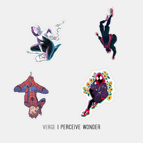 Spider-verse  Sticker Pack