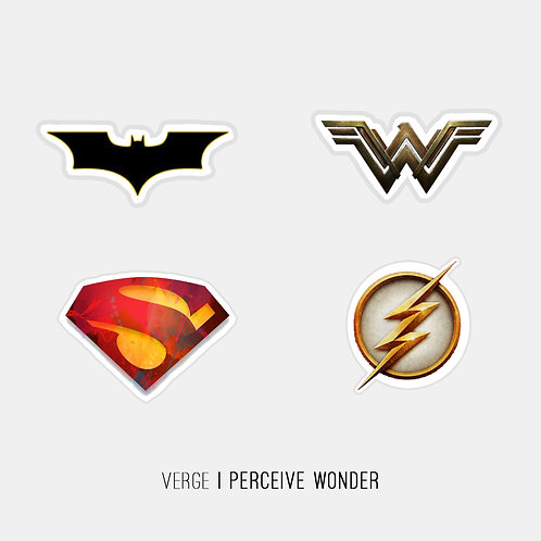 Justice League Stickers Pack