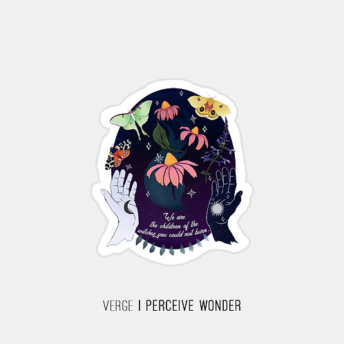 Daughters of Witches Sticker
