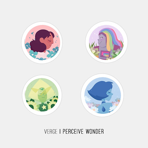 Steven Universe Stickers Pack