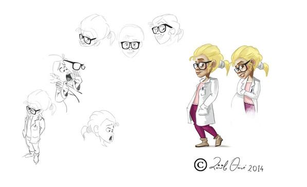 Concept y estudio de personaje.