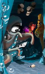 Wolrd Alive - Aqua Dragons