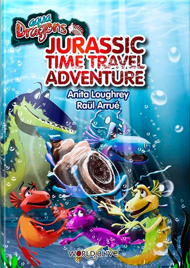 Agua dragons Jurassic Time Travel Adventure