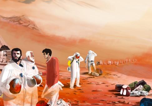 Buenos días Marte