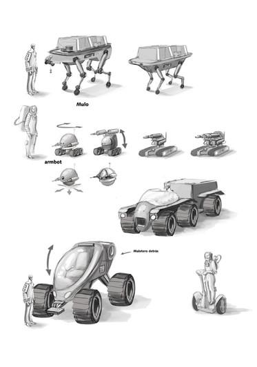 Bocetos-Buenos días Marte