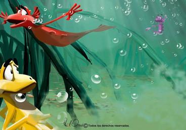 Aqua Dragons  Wolrd Alive