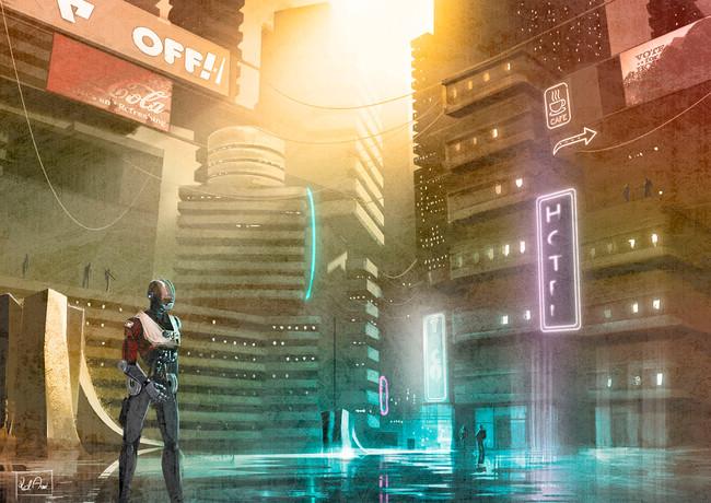 Concept ciudad