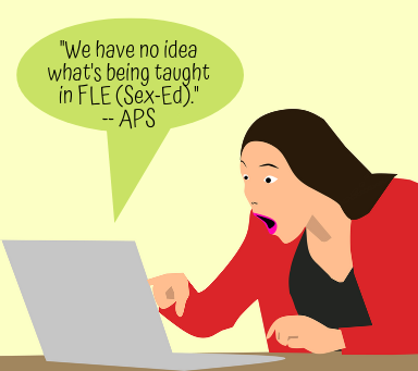 The 'Family Life Education' Curriculum at APS: It's Worse Than We Thought
