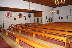 Herz-Jesu Kirche vor den Umbauarbeiten zum heutigen Tanzstudio