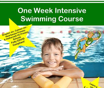 Let's learn to swim this summer...