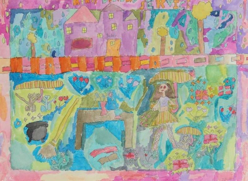 Kiki's Delivery Service, Age 7, Artist -