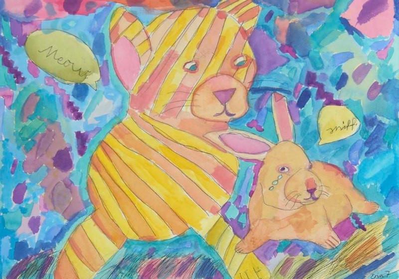 Friends, Age 7, Artist - Erin.jpg