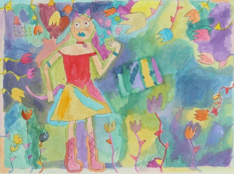 Dancing Queen, Age 7, Artist - Erin.jpg