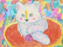 Birthday Kitten, Age 5, Artist - Annie.j