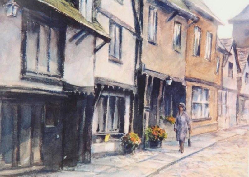 Norwich England, Watercolor, 16x20.jpg