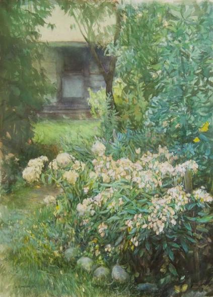 Friday's Porch, Watercolor, 22x30.jpg