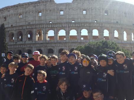 U11s take on Italy!