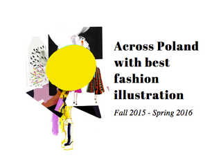 Across Poland with best fashion illustration