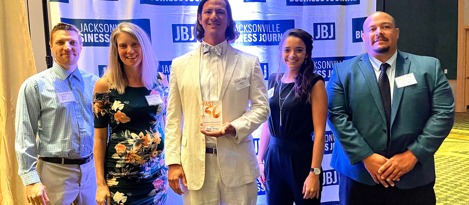 Chang Industrial Named 11th Fastest Growing Company on the First Coast- JBJ Fast 50