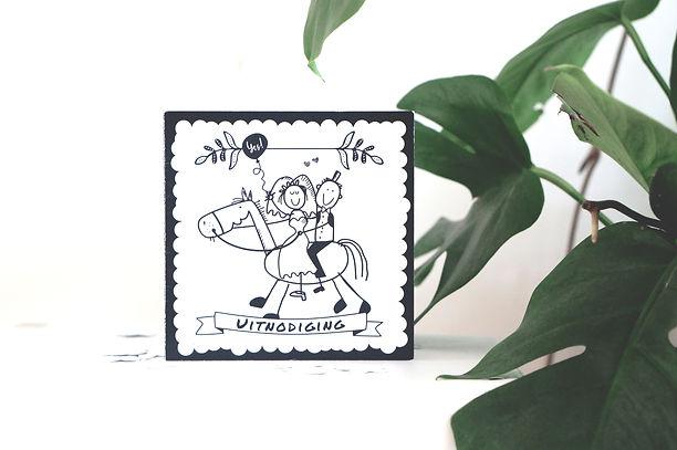 trouwkaart ontwerp zeeland