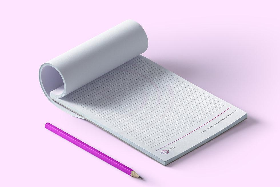 huisstijl ontwerp , noteblock,