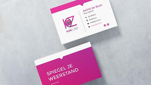 Visitekaartje, visitekaart ontwerp, middelburg